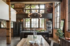 Bulb Lights by Industrial Style Kitchen Design Ideas Marvelous Images