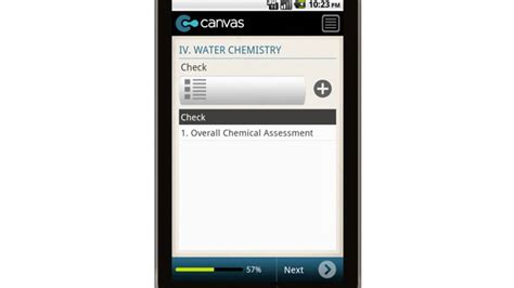 Canvas Residential Swimming Pool Inspection Report Mobile