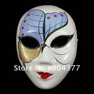 Full Face Butterfly Masquerade Masks For Women Paper Pulp ...