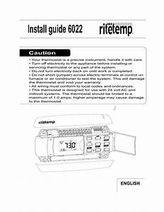 Ritetemp Thermostat Wiring Diagram