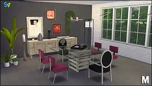 maxence dining by mango sims liquid sims With salle a manger sims 4