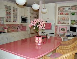 Brown flooring along kitchen countertop design ideas white for Kitchen colors with white cabinets with hanging words wall art