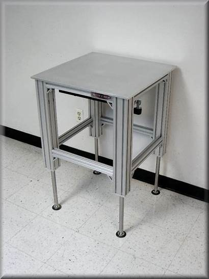 Height Aluminum Adjustable Table Lift Ext Extrusion