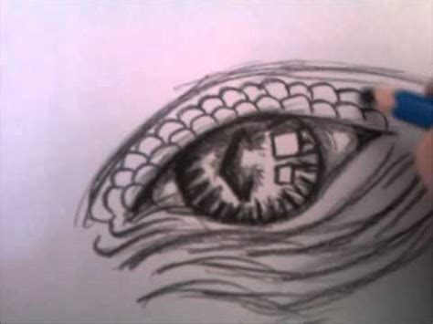 draw dragons eye youtube