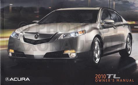 Acura Tl Owners Manual by 2009 2011 Acura Tl Repair Shop Manual Original 2 Volume Set