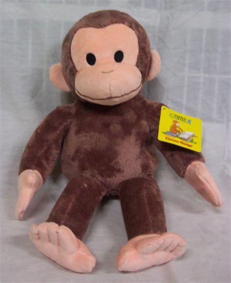 kohl s soft curious george monkey 14 quot plush stuffed animal