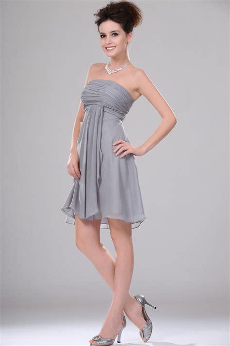 robe grise pour mariage robe cocktail grise pour mariage le de la mode