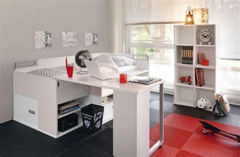 lit avec bureau intégré lit enfant avec bureau intégré dimix gautier