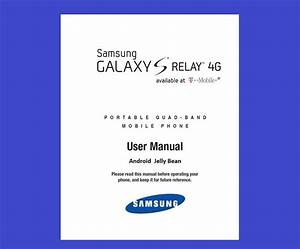 Samsung Galaxy S Relay User Manual For T
