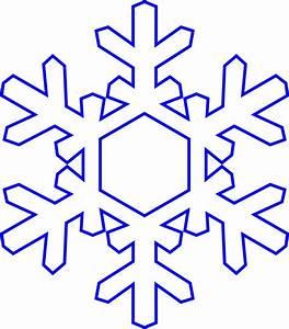 Snowflakes snowflake clipart 9 - Clipartix