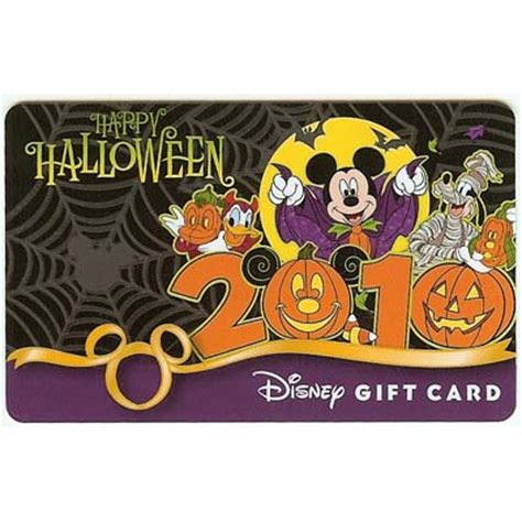 wdw store disney collectible gift card halloween