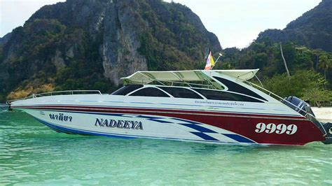 Fast Boat Phuket To Phi Phi phuket speedboat charters charter your own speed boat to