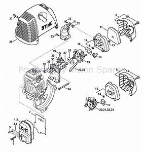 Stihl Fs 70 Rc Parts Diagram