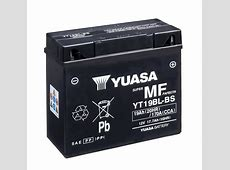 New AGM battery for BMW motorcycles launched Yuasa