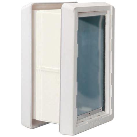 pet doors home depot ideal pet 7 25 in x 13 in medium ruff weather frame door