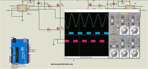 single phase pure sine wave inverter  arduino