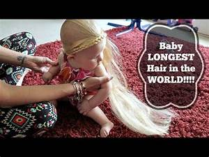 Baby LONGEST hair in the WORLD!!!🌏 - YouTube