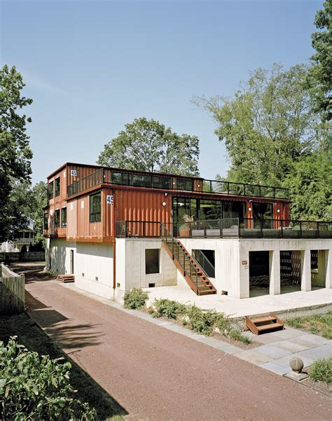 Shipping Container Homes by A Shipping Container Home In Pennsylvania Embraces Its