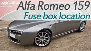 Alfa Romeo 159 Fuse Box Location