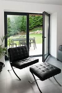 Fenetre Alu Noir : fen tre en aluminium gris noir r alisation de belisol ~ Edinachiropracticcenter.com Idées de Décoration