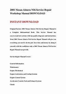 Nissan Almera N16 Service Repair Manual Download
