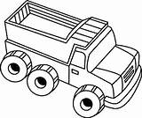 Toy Coloring Truck Dump Drawing Colouring Pages Trucks Clipart Load Play Clip Getdrawings sketch template