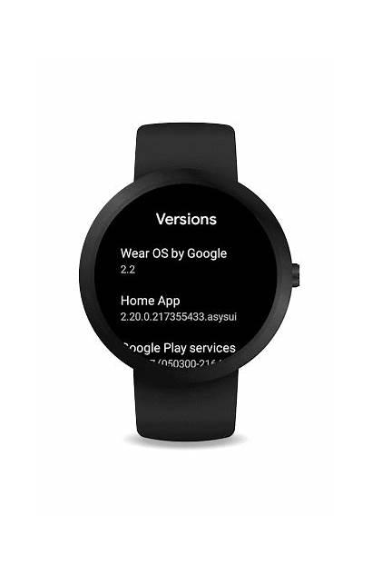 Update Version Wear Os Battery Mode Google