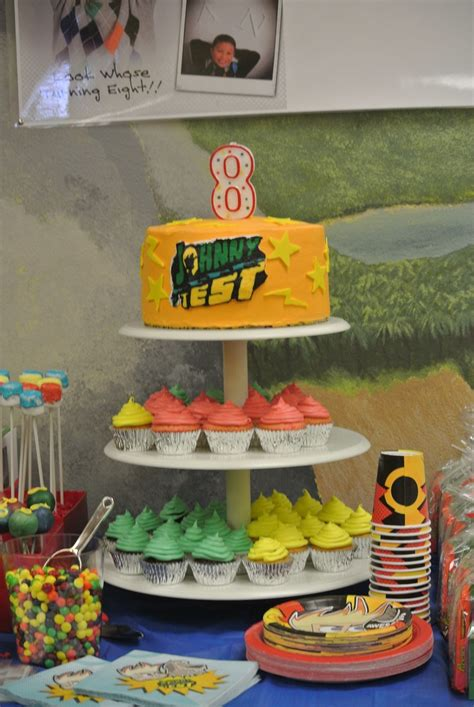 birthday party ideas for popsugar johnny test theme party turning 8 joey