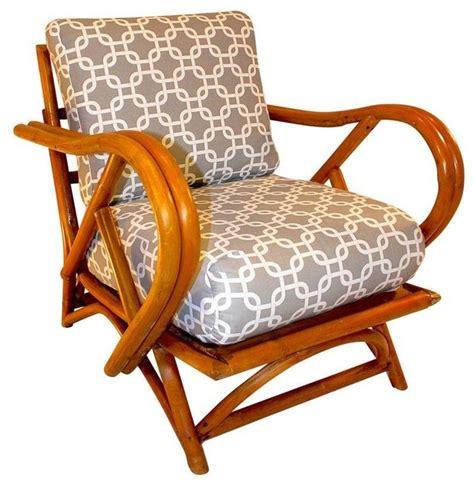 ritz tropitan style bamboo lounge chair tropical