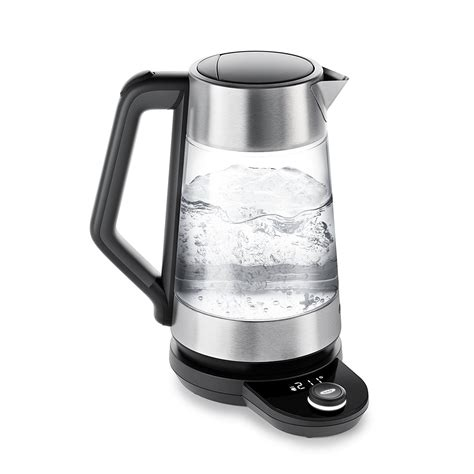 oxo kettle electric temperature glass adjustable cordless water kettles tea amazon boiling coffee epicurious control clear brew dupes pot breville
