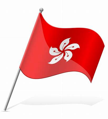 Flag Tunisia Vector Illustration Vietnam Kong Hong