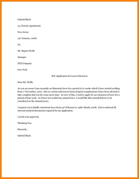 maternity leave thank you letter ideas doc 12751650
