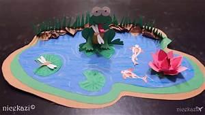 How To Make Kids Crafts Paper Pond
