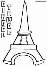 Eiffel Tower Coloring Pages Printable Colorings Radiokotha sketch template