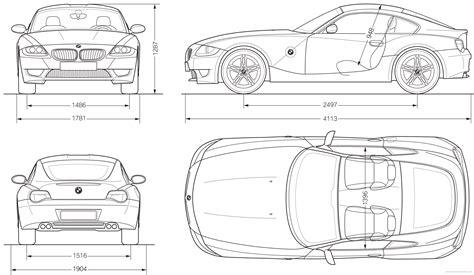 Theblueprintscom  Blueprints > Cars > Bmw > Bmw Z4 M