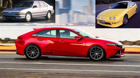 2020 Acura Integra : 2018 Acura Integra Type-r Concept