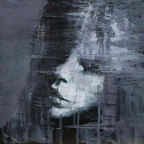 Abstract Black And White Portrait by Black White Portrait Abstract Original