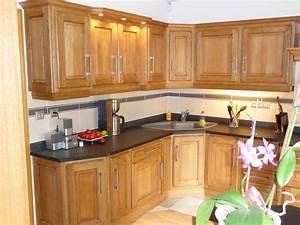 cuisine rustique en chene massif clair cuisines liebart With meuble de cuisine rustique 2 cuisine en bois bois clair meuble de cuisine en bois