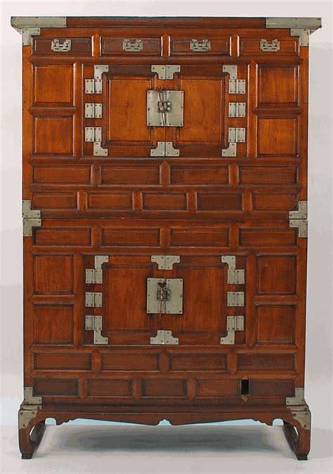 antique asian furniture tansu cabinet  korea