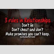 3 Rules In A Relationship Pictures, Photos, And Images For Facebook, Tumblr, Pinterest, And Twitter