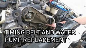 How To  Change Timing Belt And Water Pump On Toyota