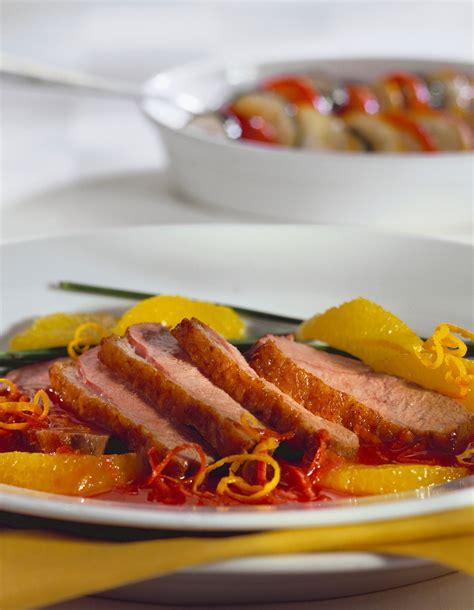 recette cuisine 3 magrets de canard à l 39 orange pour 4 personnes recettes à table
