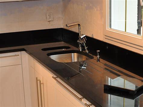 plan de travail cuisine belgique granits déco plan de travail en granit noir