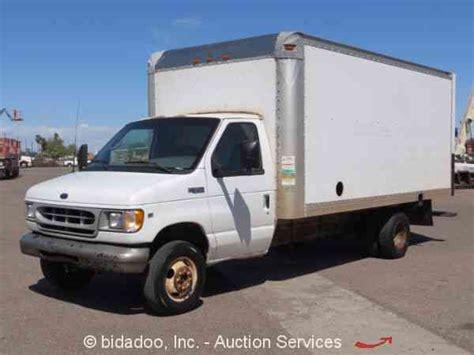 ford   van box trucks