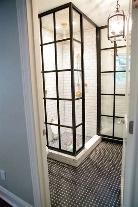 Subway Tile Shower  Contemporary  Bathroom Peppermint