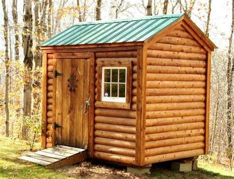cabin shed kits shed kits 6 x 8 nantucket log cabin siding klassisch