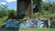 Detroit | Dequindre Cut, more graffiti/murals..this one ...