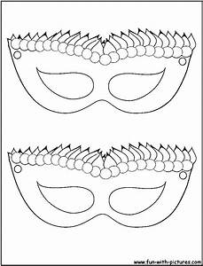mardi gras mask coloring page coloring home With jester mask template