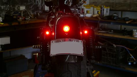 3 In 1 Led Turn Signal Install Sportster