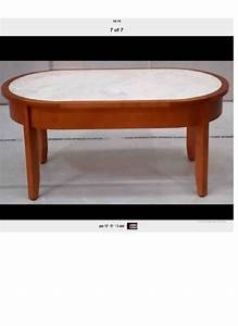 auction id 5372 lot number 57 oval coffee table brown With light wood oval coffee table